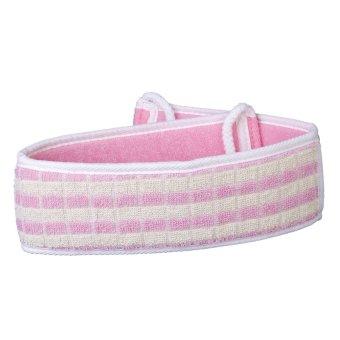 S & F Bath Sponge Scrubber (Pink)