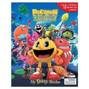 Genius Buku Anak Genius - My Busy Book - Pacman And The Ghostly Adventures