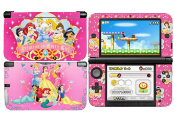 for 3DSXL Sweet Pink Full Skins Sticker Decals Cover (Intl)