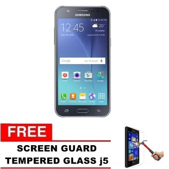 Samsung Galaxy J7 - J700 - 16GB - Hitam + Gratis Tempered Glass
