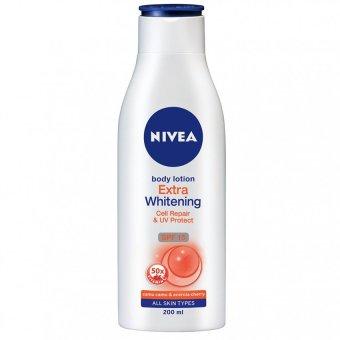 Nivea Body Lotion Uv extra Whitening Camu Camu & Acerola Cherry-200 ml