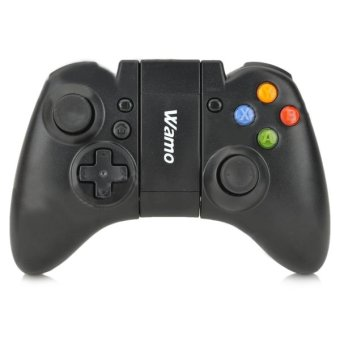 Wamo Wireless Bluetooth Gamepad for Android ios Cell Phone + PC (Black) (Intl)