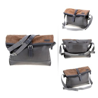 Water Resistant Lager Capacity Unisex Messenger Bag Post Bag Bicycle Bag for Outdoor Games (Intl)