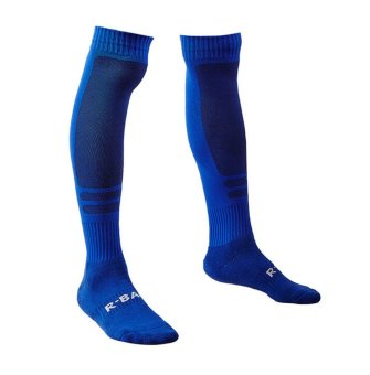 Men's Soft Comfortable Warm Crew Socks WZMC0011 blue- Intl