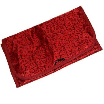 Cosmetics Toiletries Makeup Organiser Bag Pockets Compartment - INTL