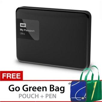 Jual Western Digital My Passport Ultra NEW 3TB Hitam + Gratis Go Green Bag + Pouch + Pen Harga Termurah Rp 3899000. Beli Sekarang dan Dapatkan Diskonnya.