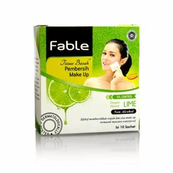 Fable Tissue Pembersih Make Up Lime