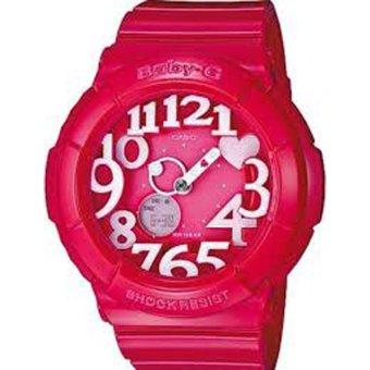 harga Casio BabyG Jam Tangan Wanita - Resin - Merah - BGA 130 4B Lazada.co.id