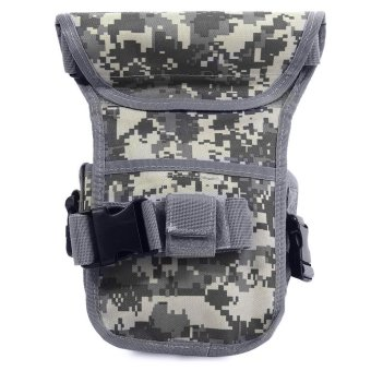 Outdoor Tactical Military Leg Pack Waist Bag Molle Pouch Camping Hiking Camera Travel
