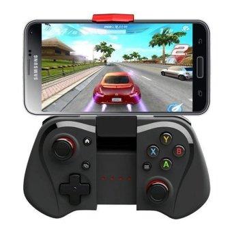 Wireless Bluetooth Game Controller Joystick for Smart Phones/ Tablet PC (Black) (Intl)