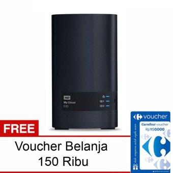 Western Digital My Cloud EX2 - 6TB Gigabit Lan + Gratis Voucher Belanja 150Rb