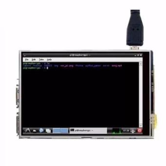 Pi Lcd Display Module 3.5 Inch Tft Touch Screen For Model A(Black)
