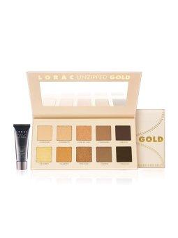 Lorac Unziped Gold Shimmer & Matte Eye Shadow Palette
