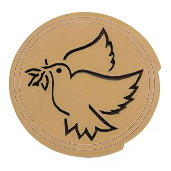 Bird Printed Wood Hole Sound Cover Block for 41