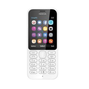 Nokia 222 - Dual Sim - 16 MB -Putih