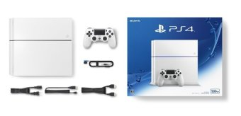 Sony PS4 Playstation 4 CUH-1200A B02 - Putih + Gratis 2 Games