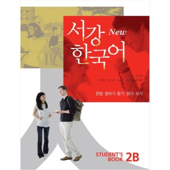New Sogang Korean Student's Book 2B with MP3 CD (Korean Language Learning Book) - Intl