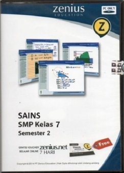 Zenius Set CD SMP Sains kelas 7 semester 2