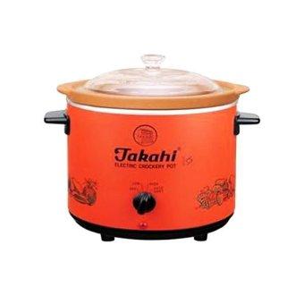 harga Takahi Slow Cooker Alat Untuk Memasak Makanan Bayi - 1.2L - Orange Lazada.co.id