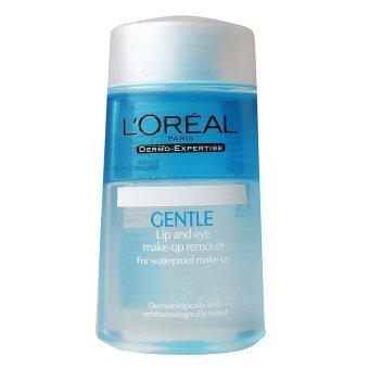 L'oreal Paris Dermo Expertise Gentle Lip & Eye Make Up Remover - 125ml 100% Original