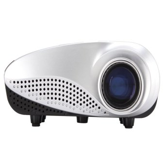 RD-802 Mini LED Digital Projector HD 1080P Video Game TV beamer for Home Theater Cinema (White) (Intl)