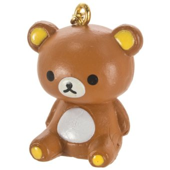 San-X Rilakkuma Swing Mascot Earphone Jack Accessory - Rilakkuma