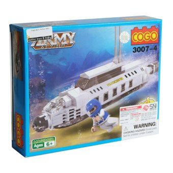 Cogo Army Action 3 in 1 3007-4