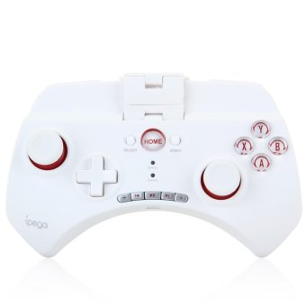 IPEGA PG 9025 Wireless Bluetooth Multimedia Game Controller with Telescopic Stand for iOS Android (White) (Intl)