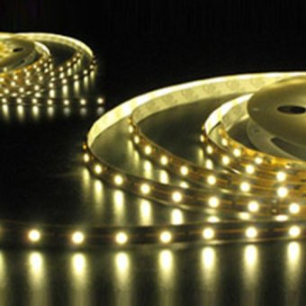 Warm White strip Strips 5M Cars Autos Vehicle Vehicles SMD 3528 decorate (Intl)