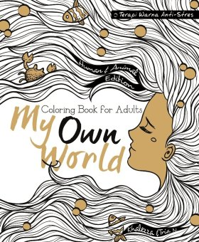 Renebook - My Own World: Human & Animal (Coloring Book for Adults) - Soft Cover