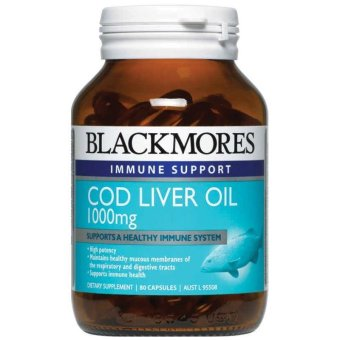 Blackmores Cod Liver Oil 1000mg - 80 Tablets