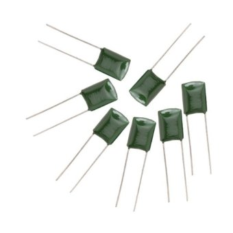 50 Pieces Electric Guitar Polyester Film 2A473J Capacitors (Green) - Intl