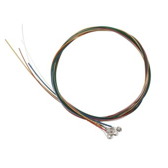 A105 0.012-0.053 Inch Colorful Coated Copper Alloy Wound Acoustic Guitar Strings - Intl