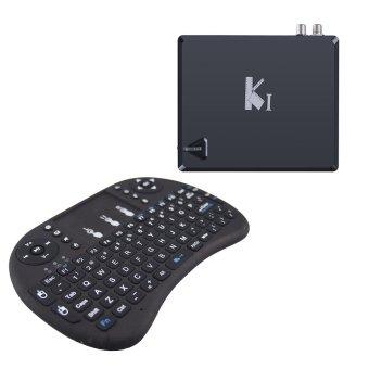 K1 DVB-T2 Android TV Box and Mini Keyboard(Black) (Intl)