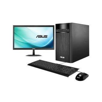 Jual ASUS Desktop K31AD-ID008T - Intel Core i3 - 2GB 500GB - 18.5 Display - Windows 10 - Hitam