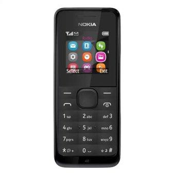 Nokia 105 - 8 MB - Hitam