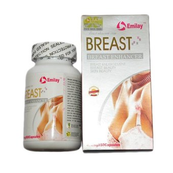 Emilay Breast Enhancement USA - Isi 60 Butir