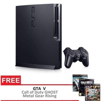 Sony Playstation 3 Slim 160GB Ori + Gratis 3 Games