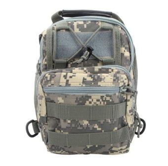 Men Women Outdoor Sport Camping Hiking Trekking Bag Military Tactical Shoulder Bag ACU