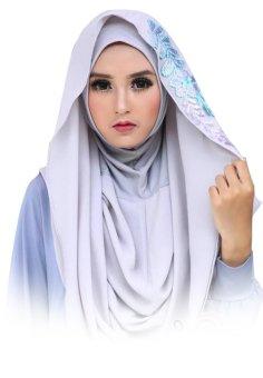 Deeja Bubble Pop Raisa Jilbab Instan - Warna Abu
