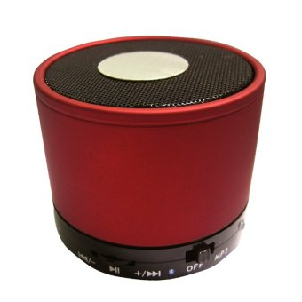 Fang Fang Wireless Bluetooth Mini Stereo Speaker Loudspeaker Box for Iphone Smartphones (Red)