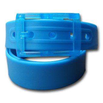 harga Dorai Plastic Belt - Ikat Pinggang Pria / Wanita (Baby Blue) Lazada.co.id