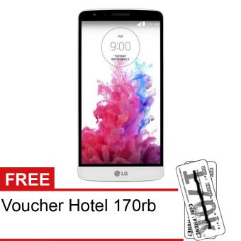 LG G3 Stylus D690 - Quad Core - 8GB - Putih + Free Voucher Hotel 170rb
