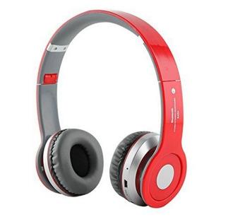 Ovleng S450 Bluetooth Headset Earphone (Red) (Intl)