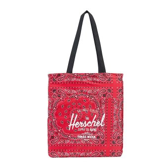 harga Herschel Packable Travel Tote Packable - Red Bandana Lazada.co.id