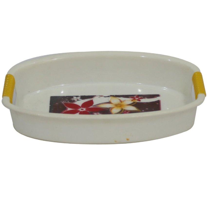 harga Hommy Nampan Plastik 3608 - Putih Lazada.co.id