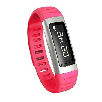 U9c Smart Sports Watch Bracelet for Cell Phone Iso and Android with Pedometer Ringing Reminder Anti Lost (Red) (Intl)