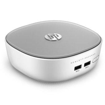 HP Mini Pc 300-223D - Intel i3-5005U - 2GB RAM - 500Gb - Intel HD Graphics - Windows 10 - Abu-abu