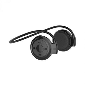 Universal Wireless Stereo Bluetooth Sport Headset with Microphone - Mini503 - Hitam