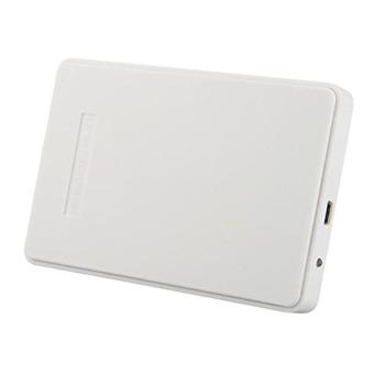 2.5 Inch 2TB Portable USB 2.0 SATA Hard Disk Drive Enclosure External Case Box White(INTL)
